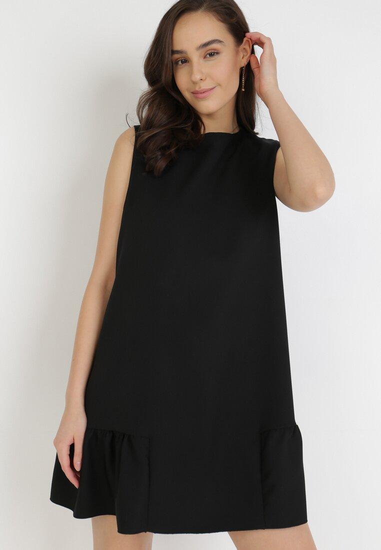 Czarna Sukienka Acosisia