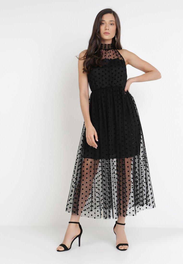 Czarna Sukienka Xanishia