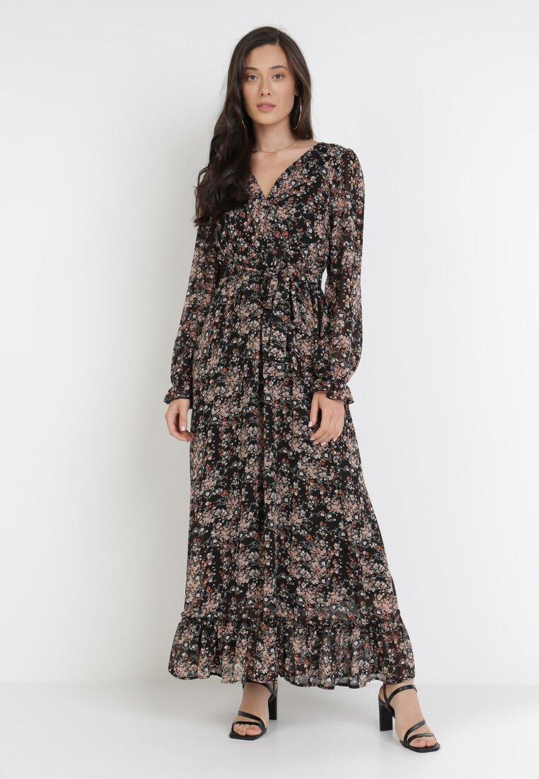 Czarna Sukienka Aethallis