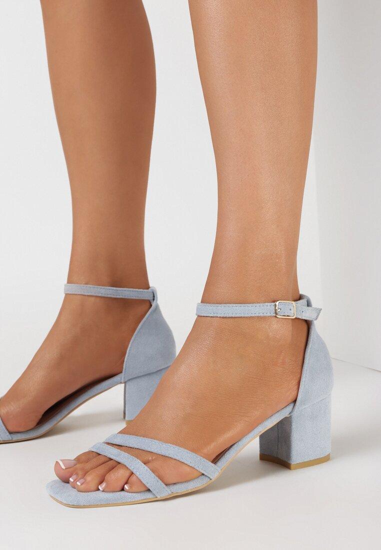 Niebieskie Sandały Dorephine