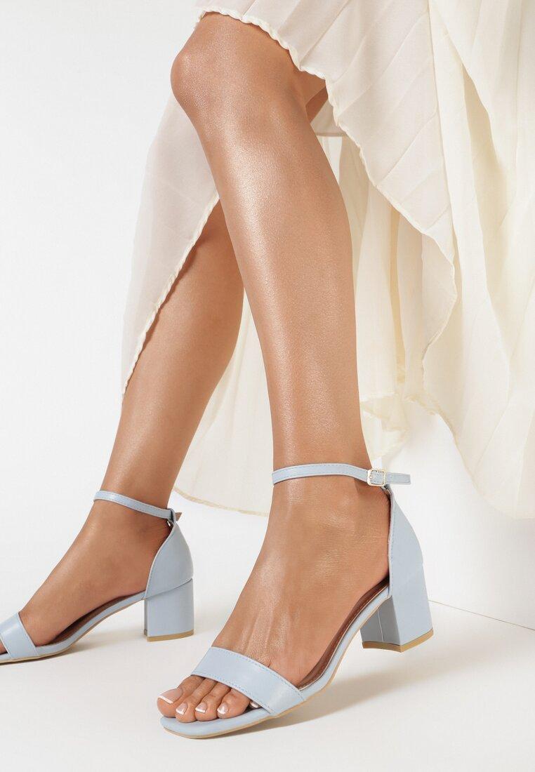 Niebieskie Sandały Sileosis