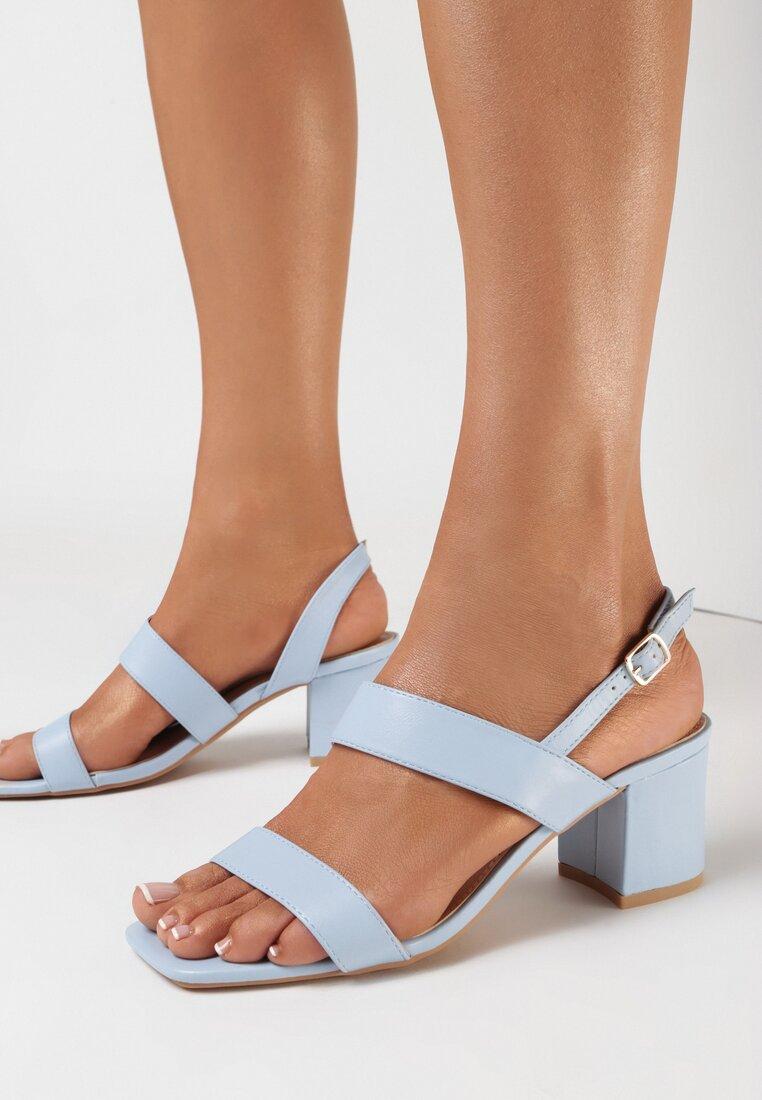 Niebieskie Sandały Alexanthei