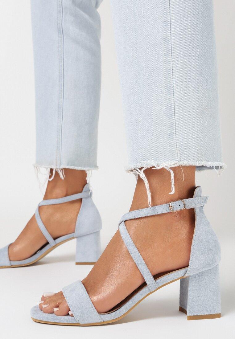 Niebieskie Sandały Thespisha