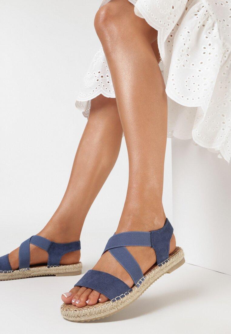 Niebieskie Sandały Kisymes