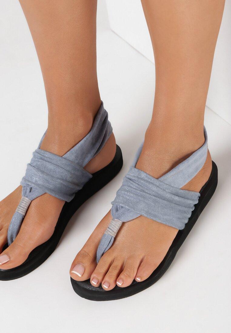 Niebieskie Sandały Thosais