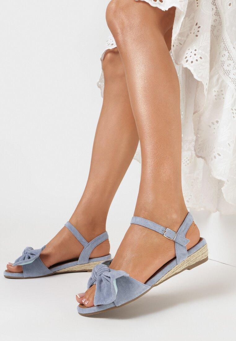 Niebieskie Sandały Thimolas