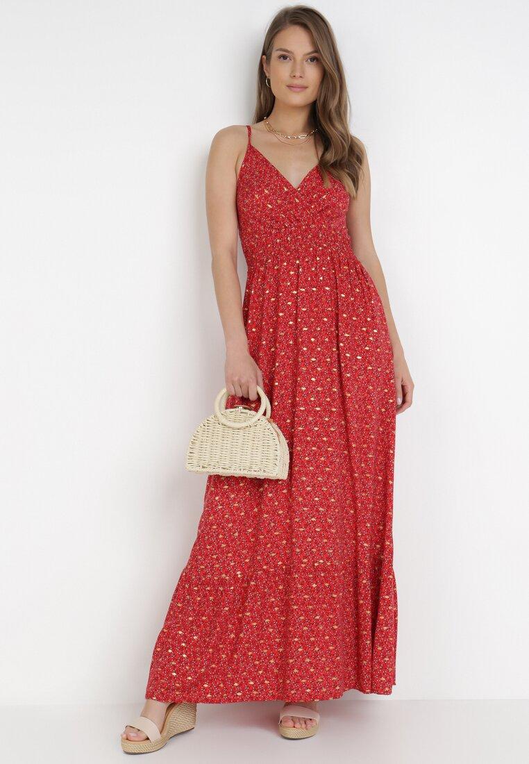Czerwona Sukienka Alexanthus
