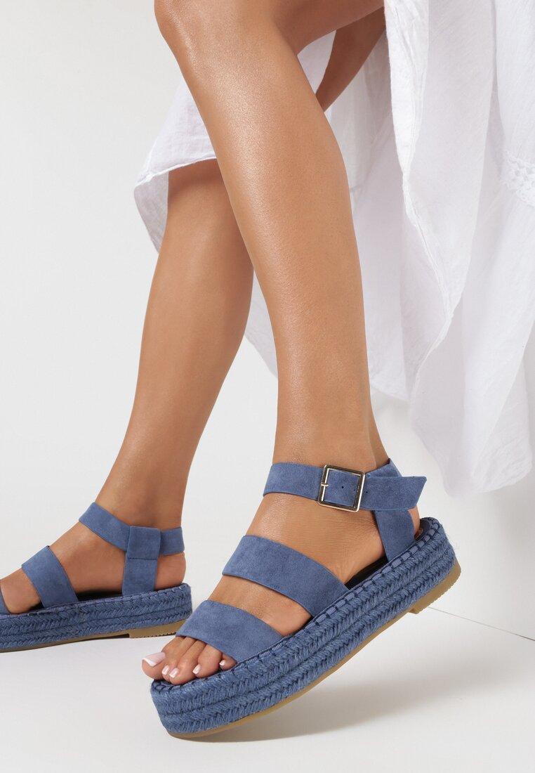Niebieskie Sandały Chritte