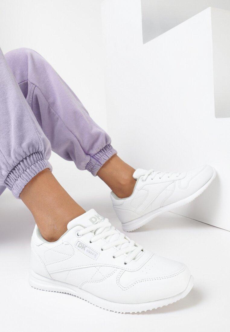 Białe Buty Sportowe Diomeine