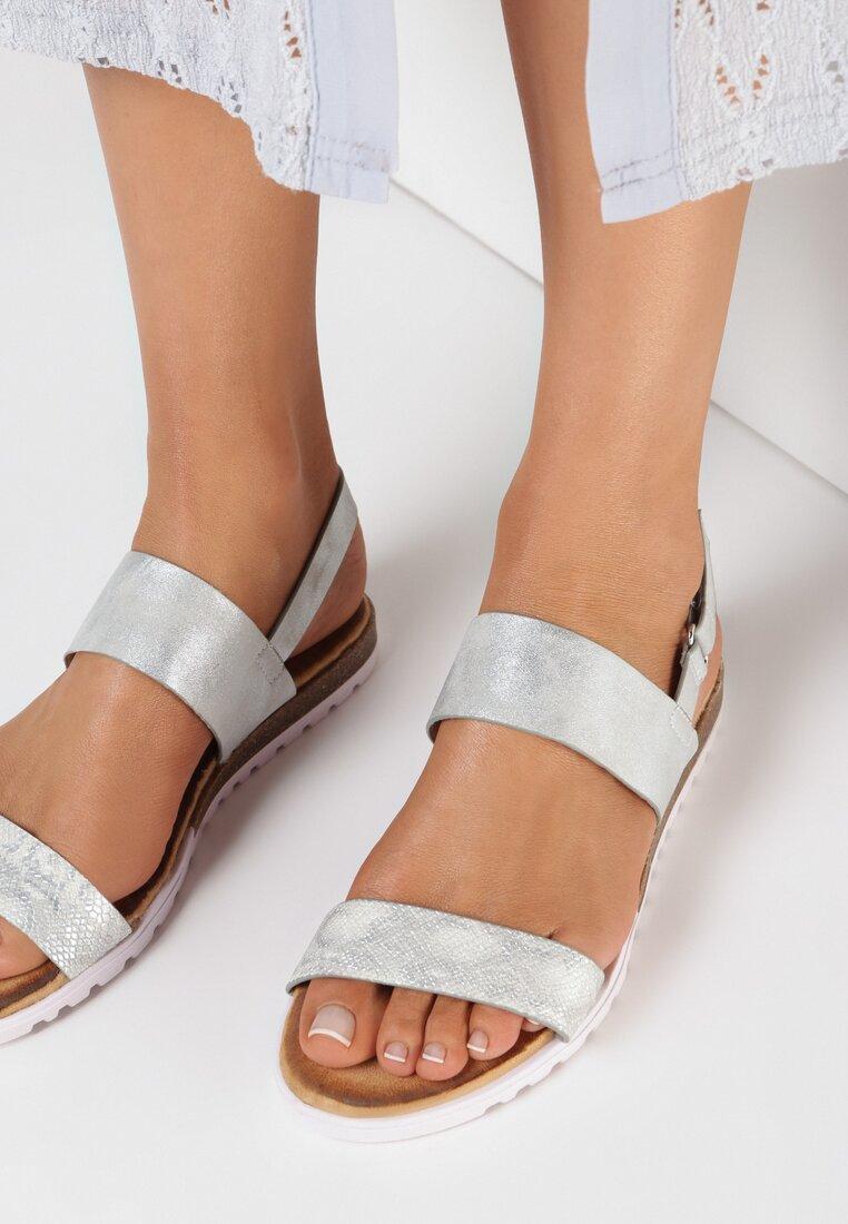Srebrne Sandały Cordena