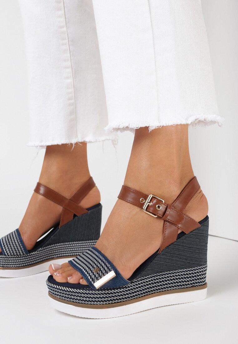 Niebieskie Sandały Talogana
