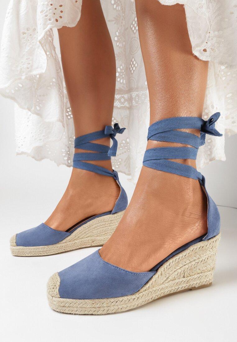 Niebieskie Sandały Aegates