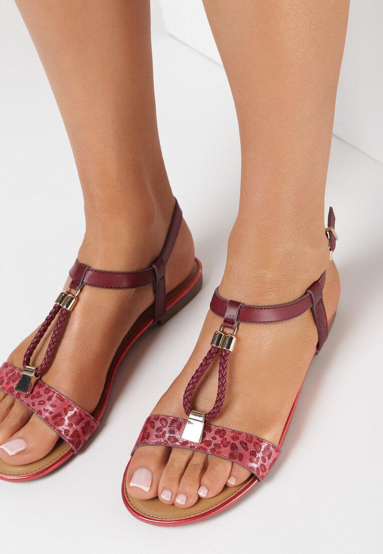 Czerwone Sandały Zotte