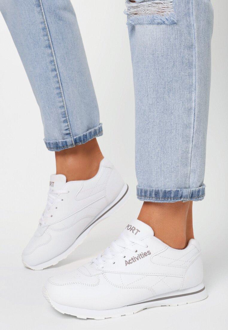 Białe Buty Sportowe Firi