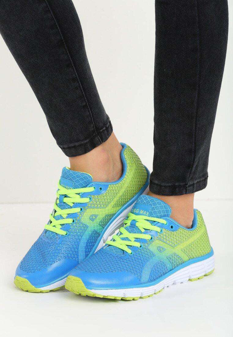 Niebieskie Buty Sportowe Korelle