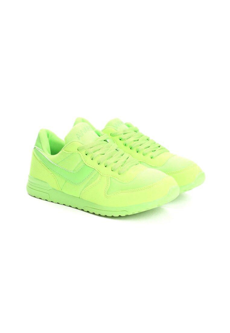 Limonkowe Buty Sportowe Spray