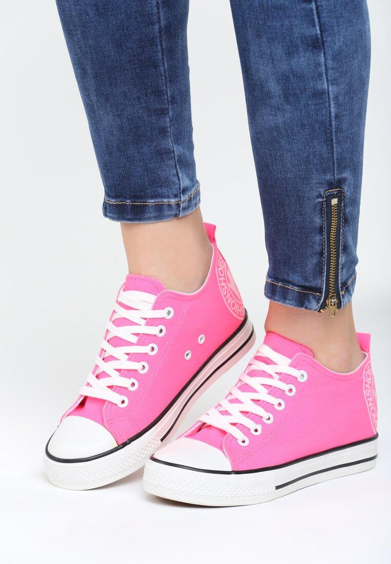 Różowe Sneakersy Luckiest