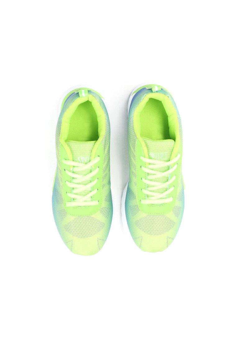 Zielono-Niebieskie Buty Sportowe Chenna