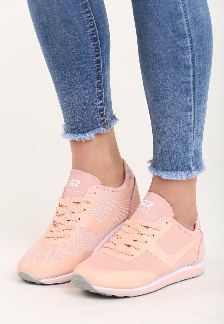 Różowe Buty Sportowe Remedy