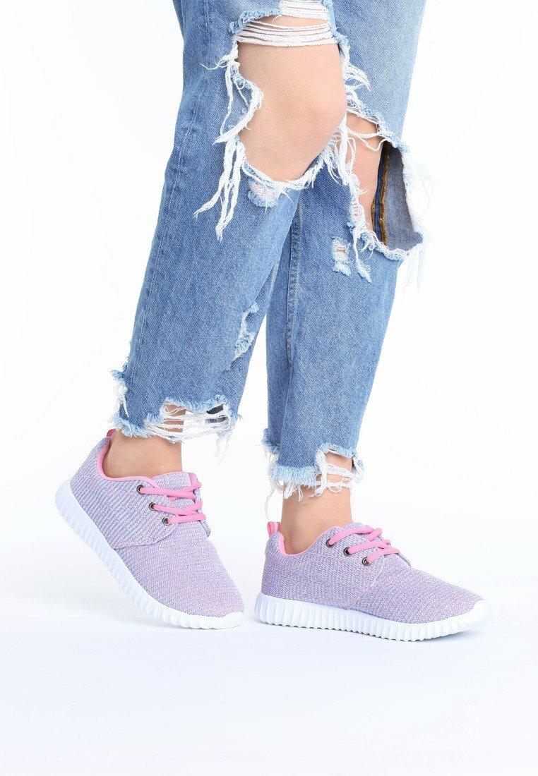 Różowe Buty Sportowe Mayera