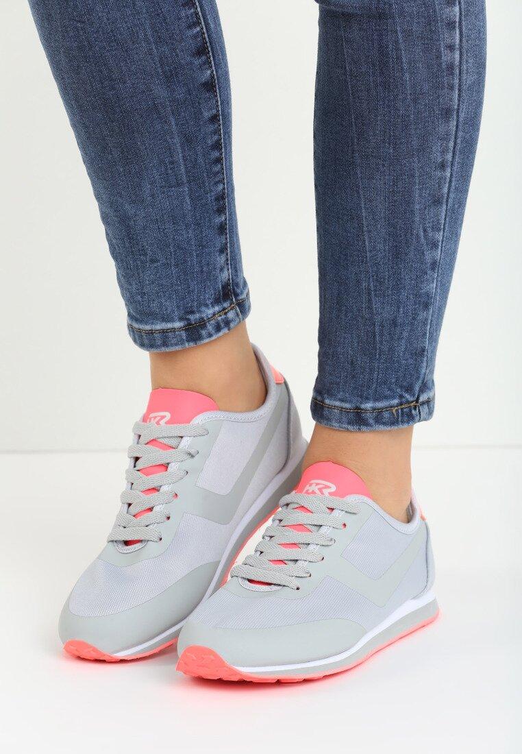 Szaro-Koralowe Buty Sportowe Remedy