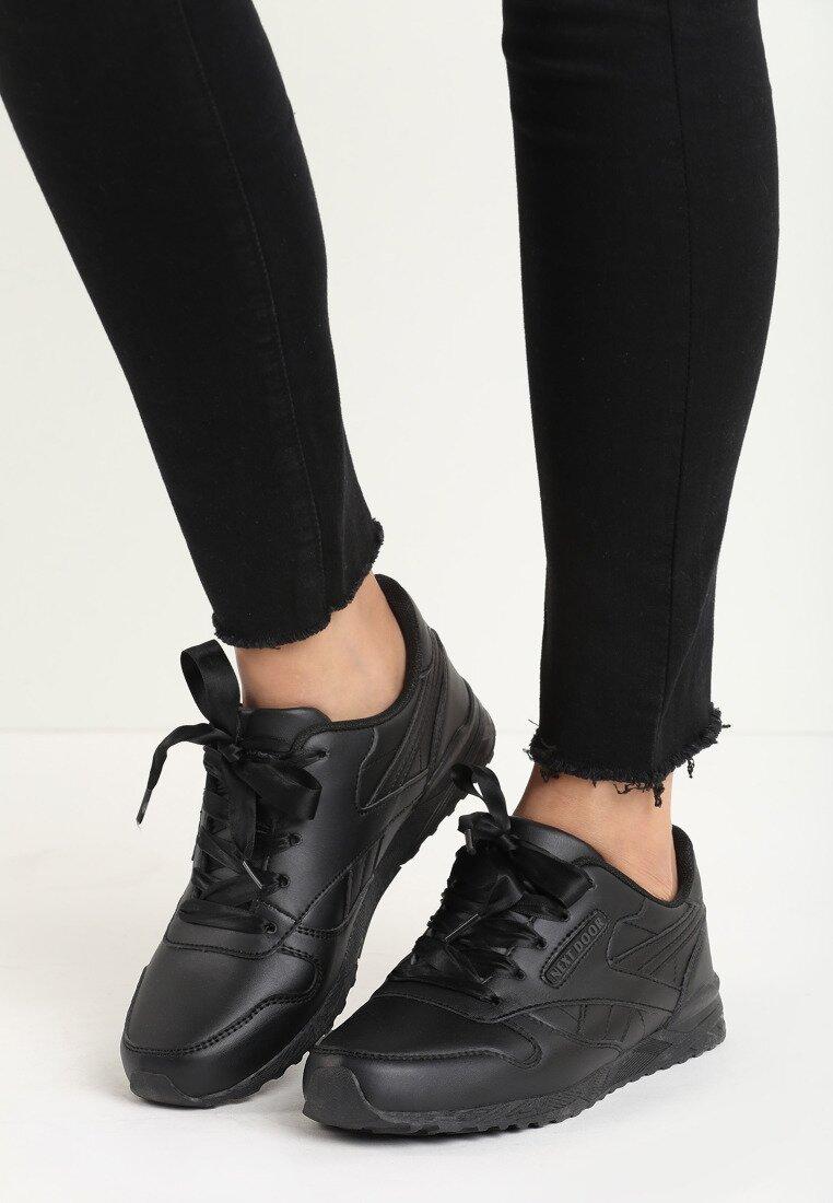 Czarne Buty Sportowe Inclination