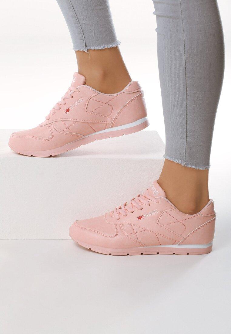 Różowe Buty Sportowe Overtime