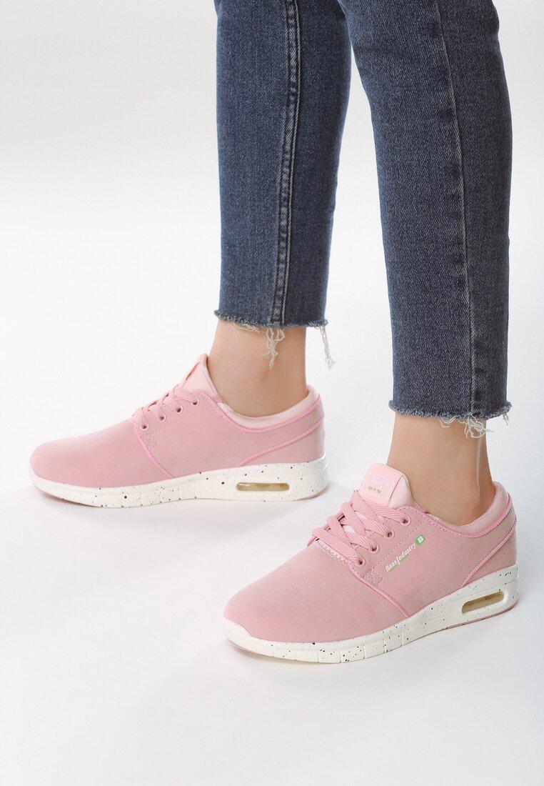 Różowe Buty Sportowe Transmission