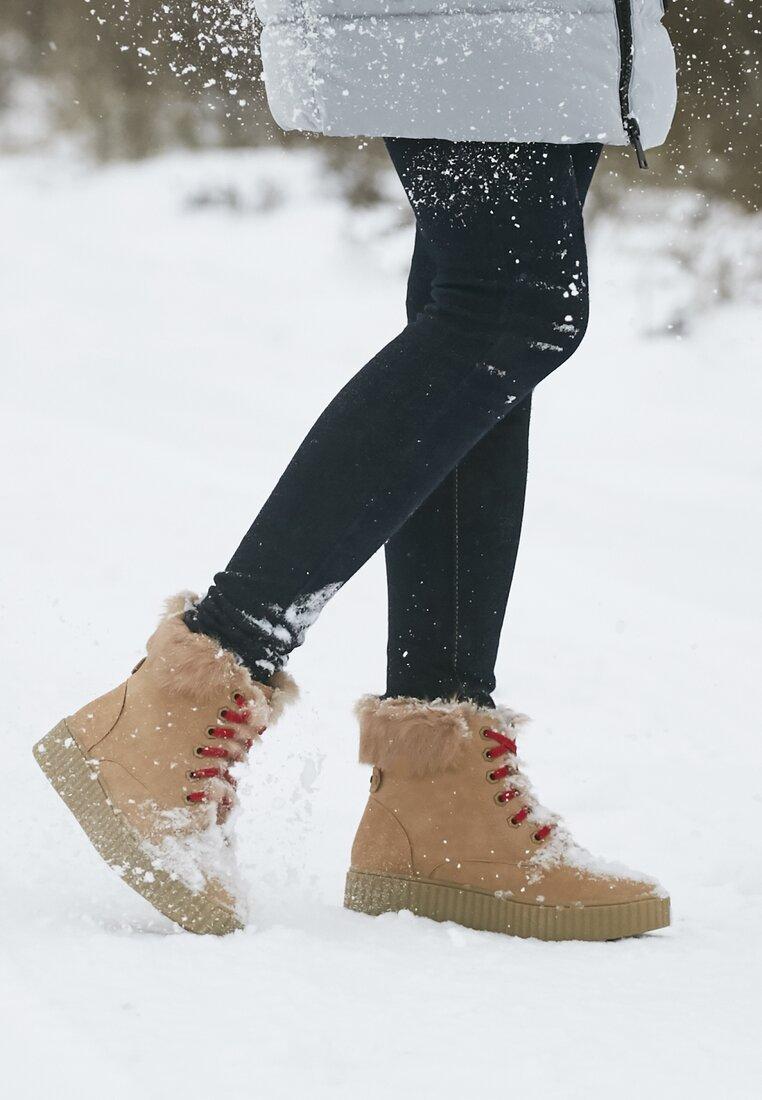 Camelowe Śniegowce Mavenn