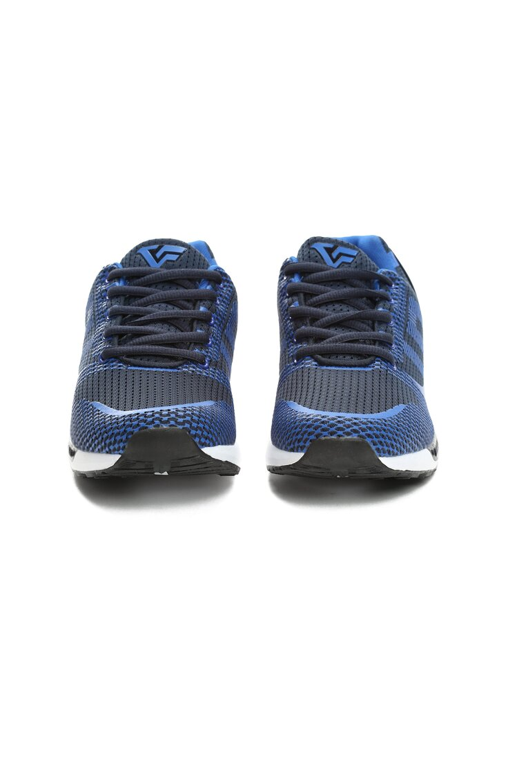 Niebieskie Buty Sportowe Sky is Torn