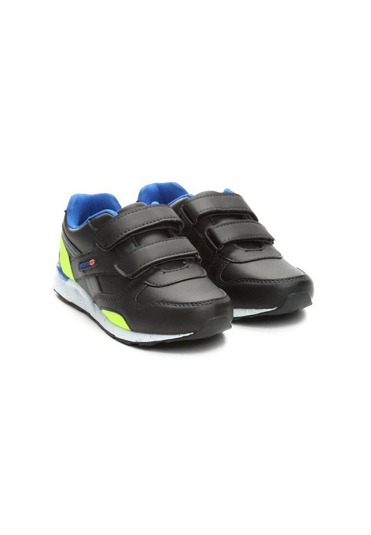 Czarno-Niebieskie Buty Sportowe Whizzkid