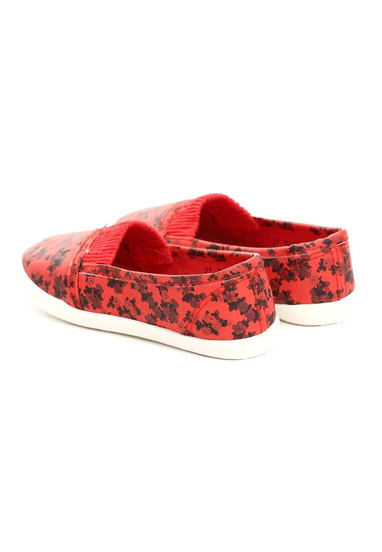 Czerwone Balerinki Wee Flower
