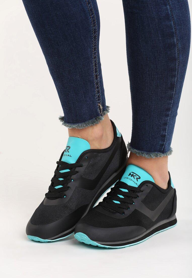 Czarno-Niebieskie Buty Sportowe Remedy