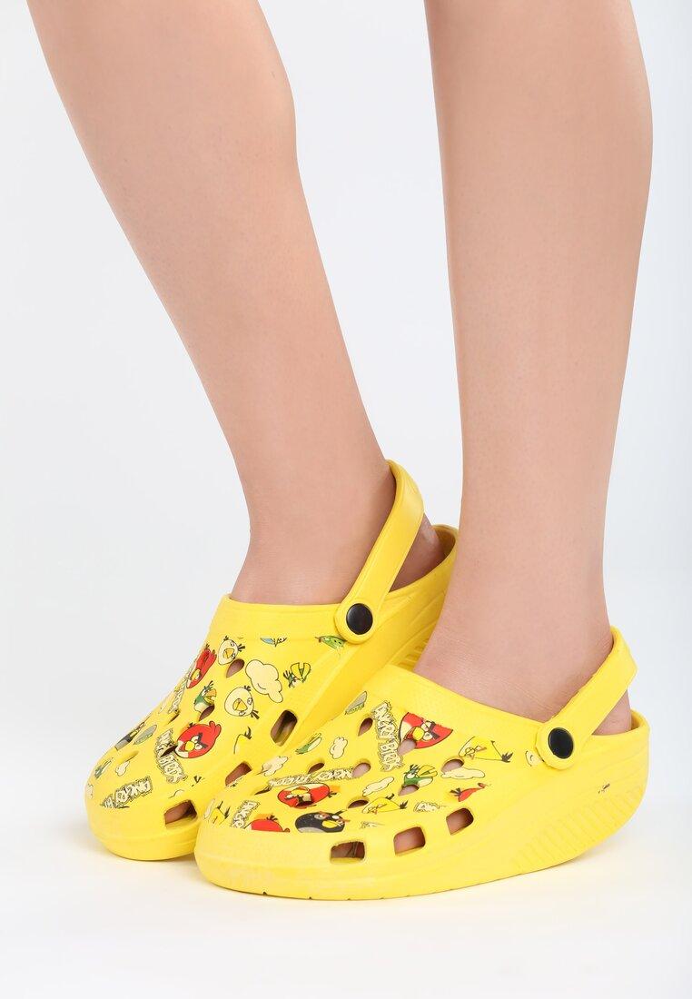 Żółte Klapki Angry Birds