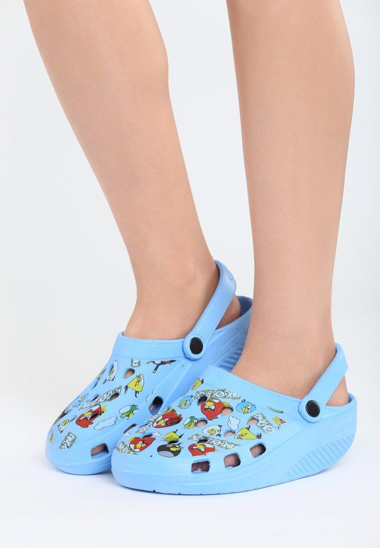 Niebieskie Klapki Angry Birds