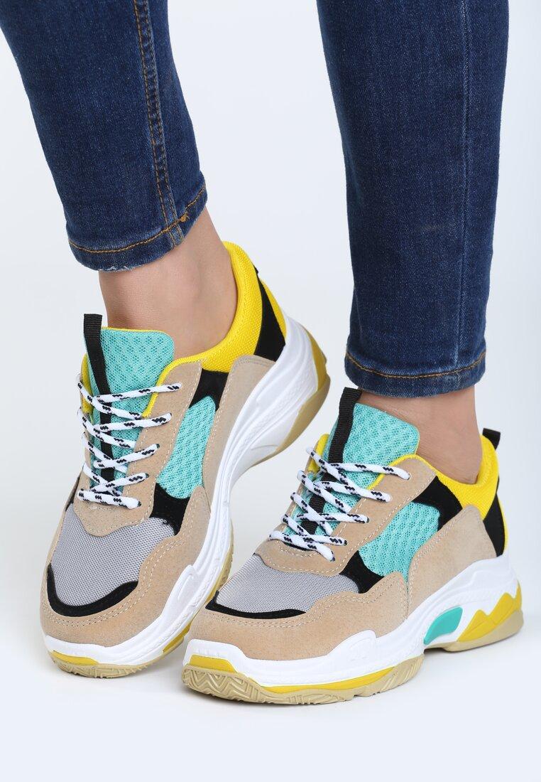 Beżowe Buty Sportowe Way To Get It