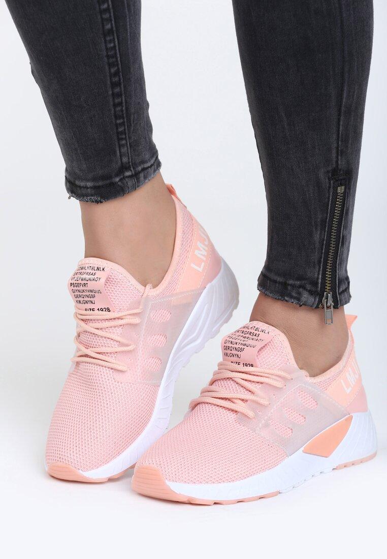 Różowe Buty Sportowe Hard Day