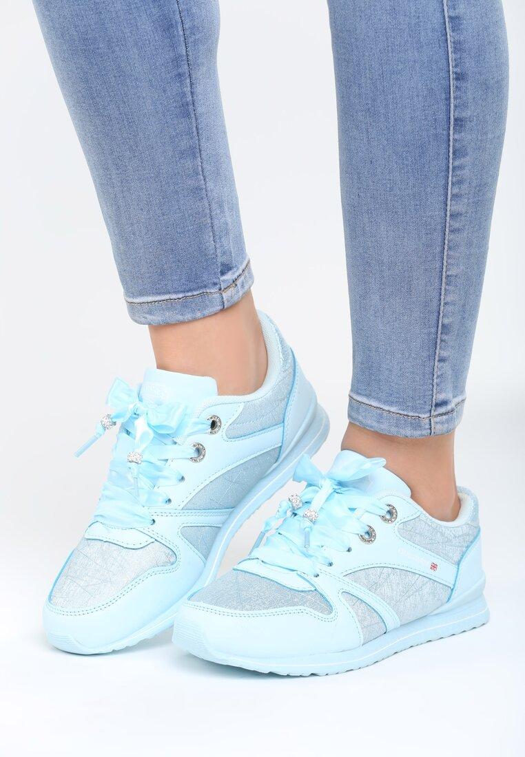 Niebieskie Buty Sportowe Frame