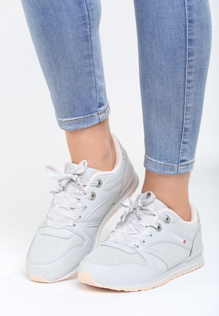 Szaro-Różowe Buty Sportowe Frame