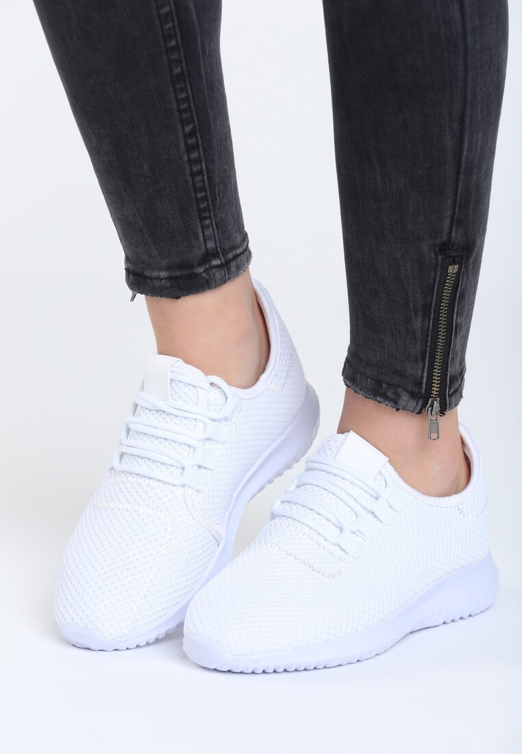 Białe Buty Sportowe Come Down