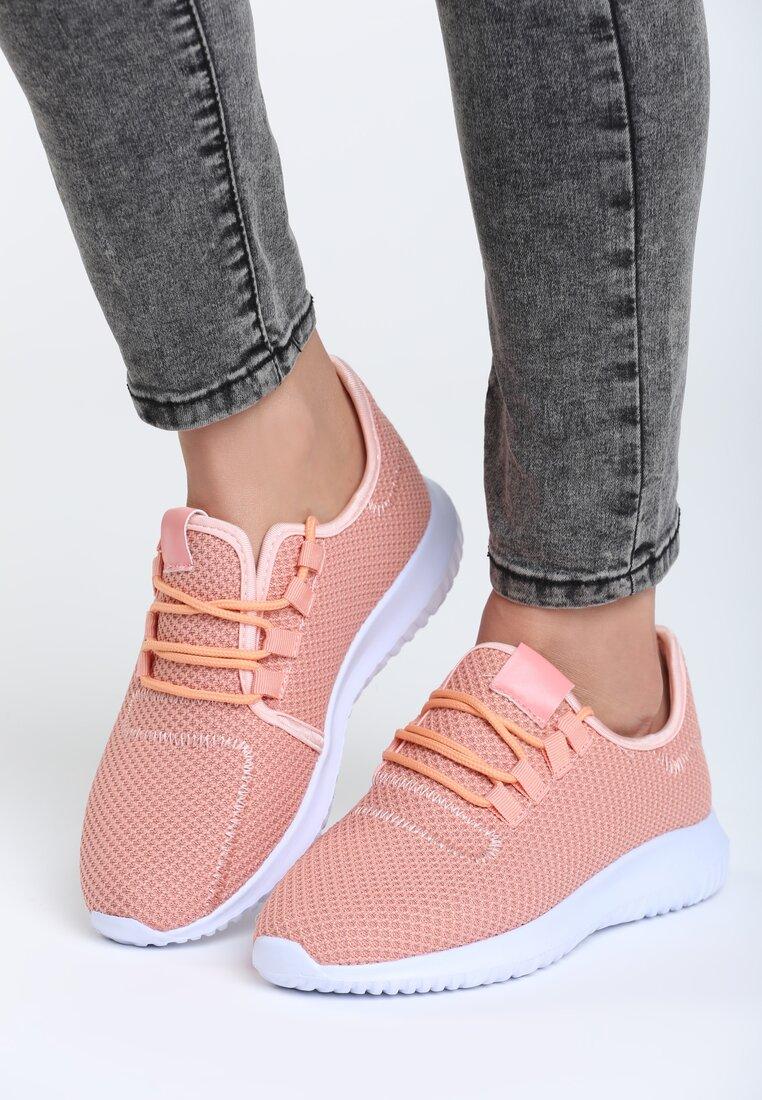 Różowe Buty Sportowe Come Down