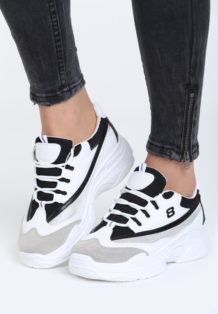 Biało-Czarne Buty Sportowe Melody Of Life