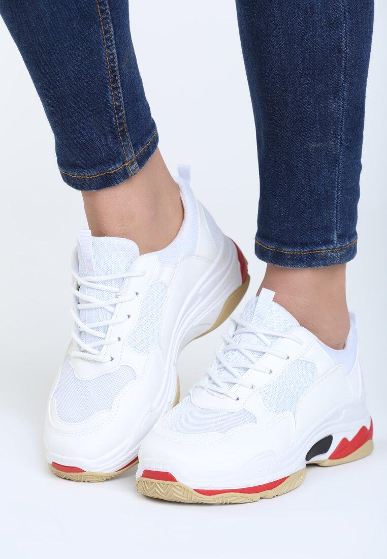 Białe Buty Sportowe Discord
