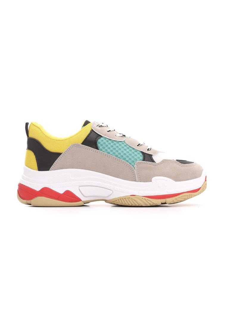 Szaro-Miętowe Sneakersy Boomerang