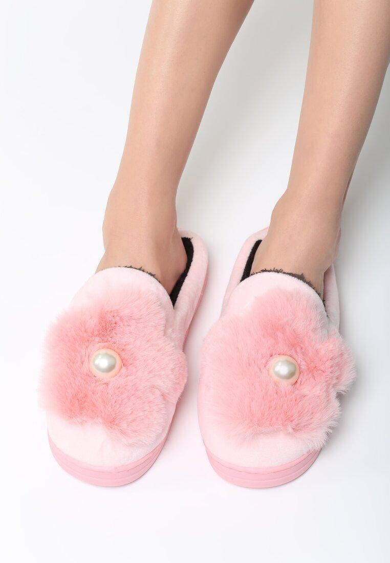Różowe Kapcie Softness Step