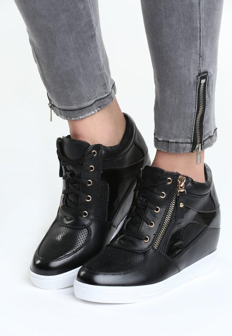 Czarne Sneakersy I'm Ready