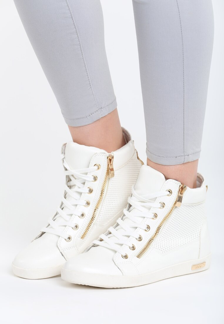 Białe Sneakersy Swamped