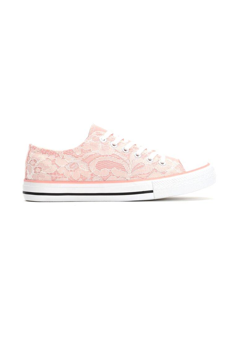 Różowe Trampki Silvia