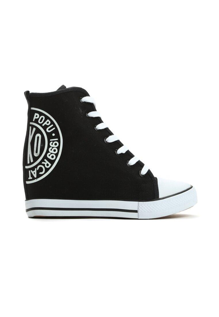 Czarne Sneakersy Rubby