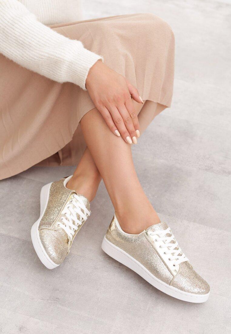 Złote Buty Sportowe Alma